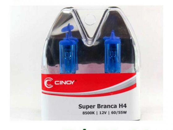 Lâmpada Super Branca - Cinoy H4